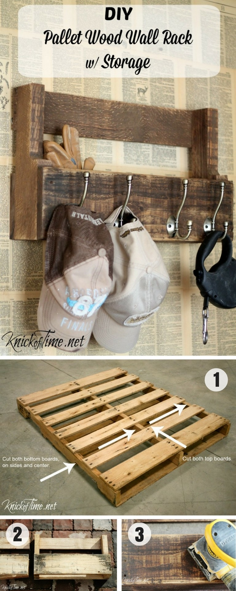 17+ Stunning Easy DIY Pallet Projects with Instructions ...