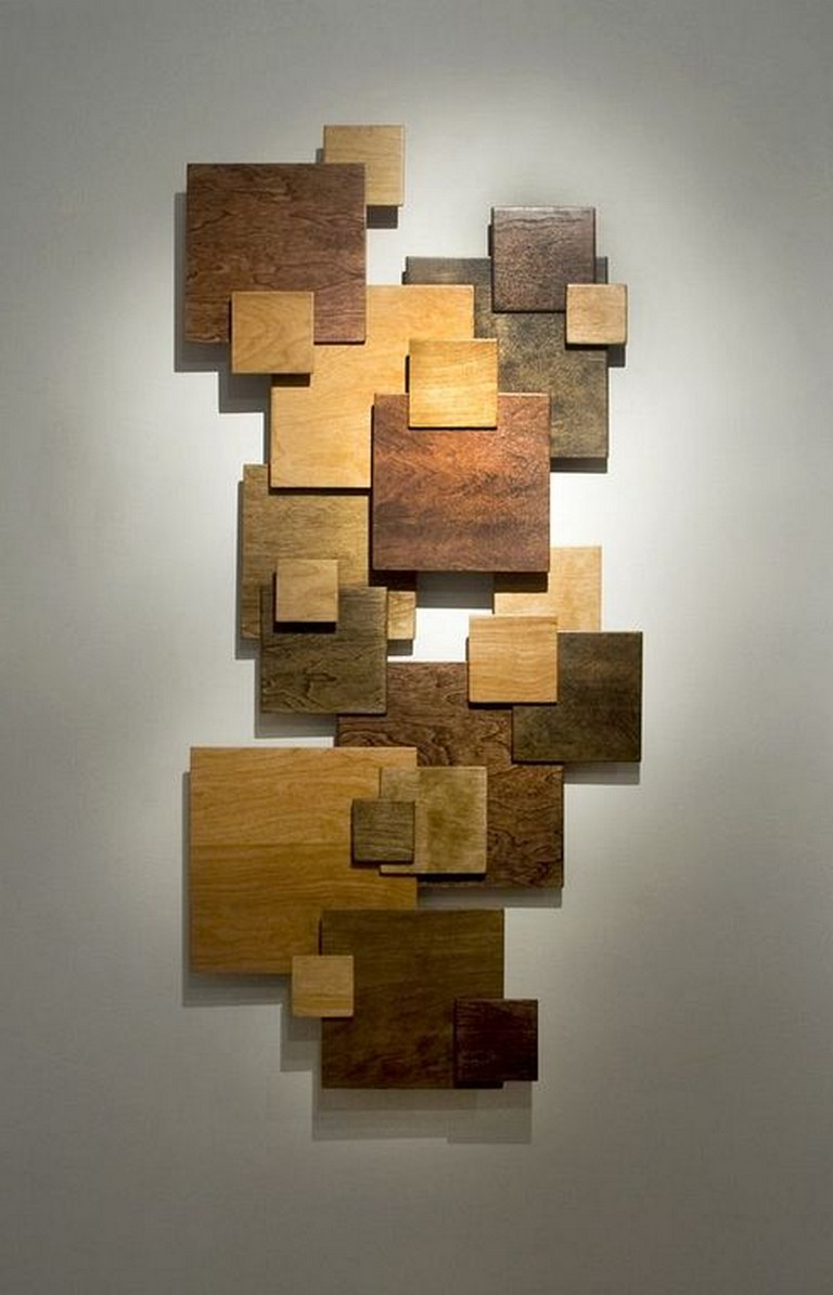 41 Stunning Wooden Wall Art Ideas To Beautify Your Home Decor